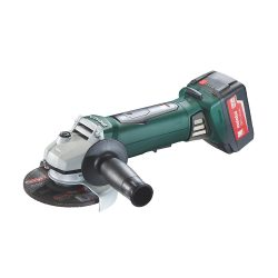 toptopdeal Metabo WP 18 LTX 125 Quick Angle Grinder 18V Cordless, Charger, 18 V, Green, 1