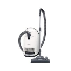 Miele 10660960 Complete C3 Silence Bagged Vacuum Cleaner, 550 W, White [Amazon Exclusive]