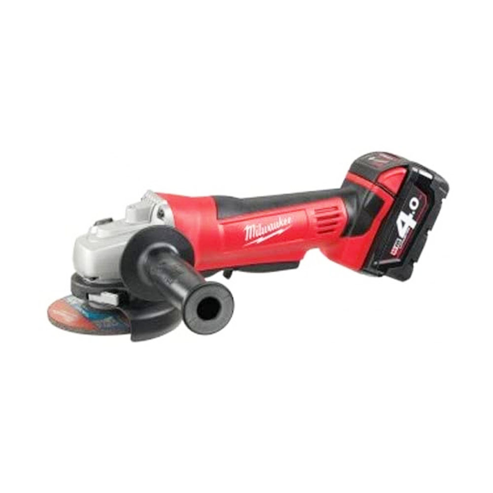 toptopdeal Milwaukee HD18AG402 M18 Angle Grinder with 2 x 4.0Ah Batteries