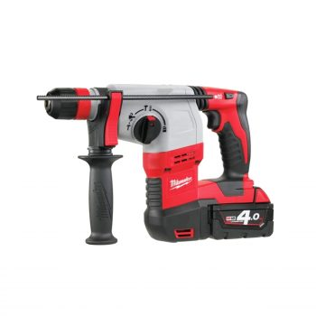 toptopdeal-Milwaukee HD18HX402 M18 Heavy Duty SDS Plus 3-Mode Rotary Hammer with Fixtec Chuck