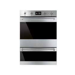 toptopdeal-Smeg DOSP6390X Multifunction Electric Built In Double Oven - Stainless Steel [Energy Class A]