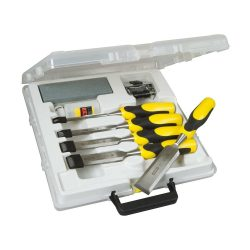 toptopdeal-Stanley 516421 Dynagrip Chisel and Strike Cap Set with Access (5 Pieces)