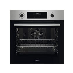 toptopdeal-Zanussi ZOPNX6X2 Series 60 SelfClean Built in Single Oven - Stainless Steel