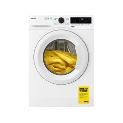 toptopdeal-Zanussi ZWF943A2PW Freestanding Washing Machine, Easy Iron, Quick wash, 14 Programs, 9kg Load, 1400rpm Spin, Width 64cm, White [Energy Class A+++] [Energy Class A+++]