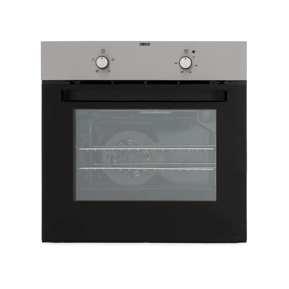 toptopdeal-Zanussi ZZB30401XK 600mm Built-in Electric Single Oven Stainless Steel