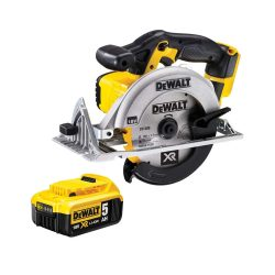toptopdeal uk Dewalt DCS391N 18v XR Li-ion 165mm Circular Saw 1 x 5ah Battery