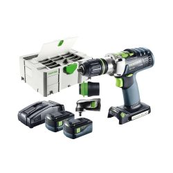 toptopdeal uk Festool 574706 Cordless Percussion Drill PDC 18