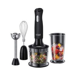 toptopdeal uk Russell Hobbs 24702 Desire 3 in 1 Hand Blender with Electric Whisk and Vegetable Chopper Attachments