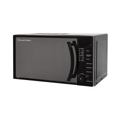 toptopdeal uk Russell Hobbs Black Digital Solo Microwave