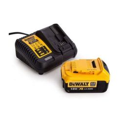 toptopdealDewalt DCB182 18V 4-0Ah Battery + DCB115 10-8V-18V Li-Ion Multi Voltage Charger