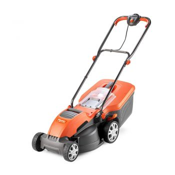 toptopdeal toptopdeal Flymo Speedi-Mo 360VC Electric Rotary Lawn Mower, 1500 W, 36 cm Cutting Width, 40 L Grass Box
