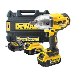 toptopdeal DeWalt DCF899P2 18v Cordless XR High Torque Brushless Impact Wrench 950Nm with 2 Li-ion Batteries 5ah