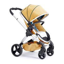toptopdeal iCandy Peach Satin Nectar Pushchair and Carrycot Set, Satin Nectar, 13.93 kg