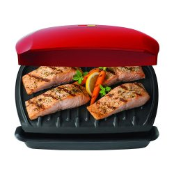toptopdeal George Foreman 5-Serving Classic Plate Grill by George Foreman