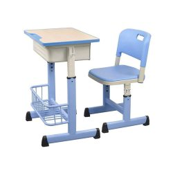 toptopdeal Desks Children's study tables Students' standard classroom and chairs Elevating