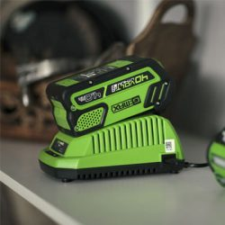 Greenworks Battery and charger