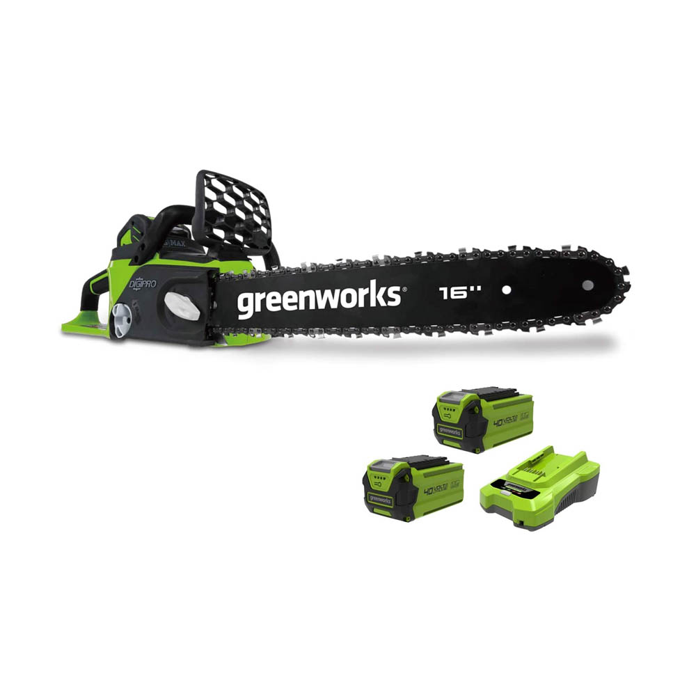 toptopdeal Greenworks Tools Cordless Chainsaw