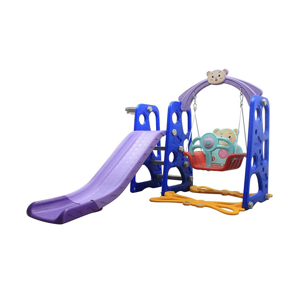 toptopdeal Slide and Swing Set for Toddler Age