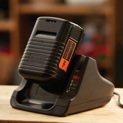 BLACK+DECKER Battery and charger