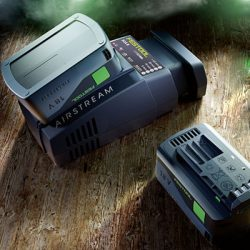 Festool battery and chargers
