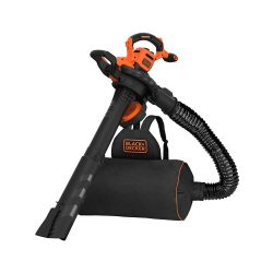 toptopdeal uk Black and Decker BEBLV300 Garden Vacuum and Leaf Blower with Back Pack Collection 240v