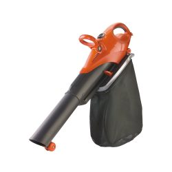 toptopdeal uk Flymo Scirocco Electric Garden Blower Vacuum with Shredding Ratio Kmph