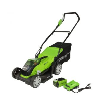 toptopdeal uk Greenworks battery-powered lawnmower G40LM35K