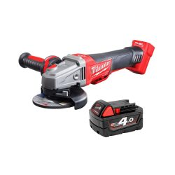 toptopdeal uk Milwaukee M18CAG115XPDB 18v Angle Grinder 115mm with 1 x 4Ah Battery