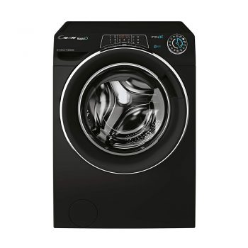 toptopdeal Candy Rapido RO1696DWMCEB Free Standing Washing Machine, WiFi Connected, 9 kg/6 kg, 1400 rpm, Black [Energy Class A]
