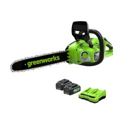 toptopdeal Greenworks Cordless Chainsaw GD24X2CS36