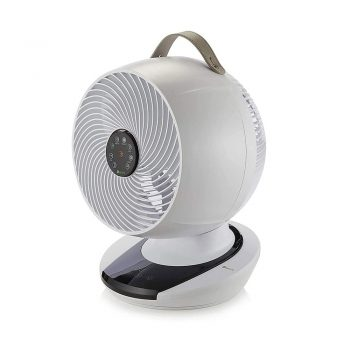 toptopdeal Meaco MeacoFan 1056 Air Circulator Award-winning, super-quiet, energy-efficient desk fan for bedroom and general home use [Energy Class A]