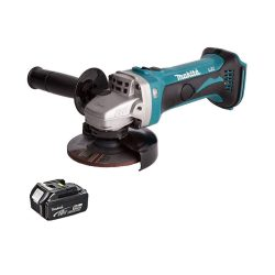 toptopdeal Makita DGA452Z 18V 115mm Cordless Angle Grinder with 1 x 5.0Ah BL1850 Battery