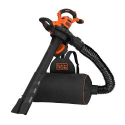 toptopdeal Black and Decker BEBLV300 Garden Vacuum and Leaf Blower with Back Pack Collection 240v