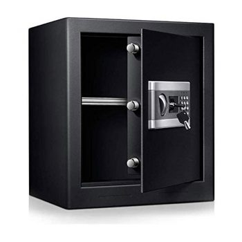 toptopdeal Safe Security Box Documents Safe Cabinet TOPQSC Fireproof and Waterproof