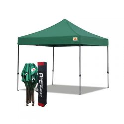 toptopdeal-ABCCANOPY Pop Up Commercial Gazebo With Side Panels And Door Panel Instant Shade And Block Rain,