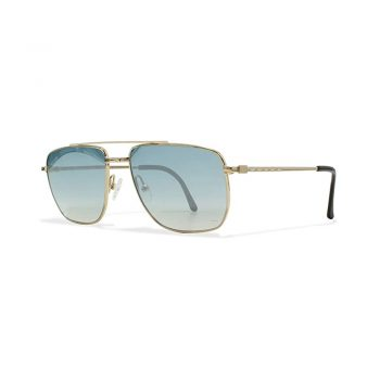 toptopdeal Burberrys 8825 000 Gold Vintage Sunglasses Square For Men And Women