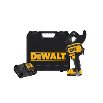 toptopdeal-DEWALT DCE155D1 20V MAX Cordless ACSR Cable Cutting Tool Kit