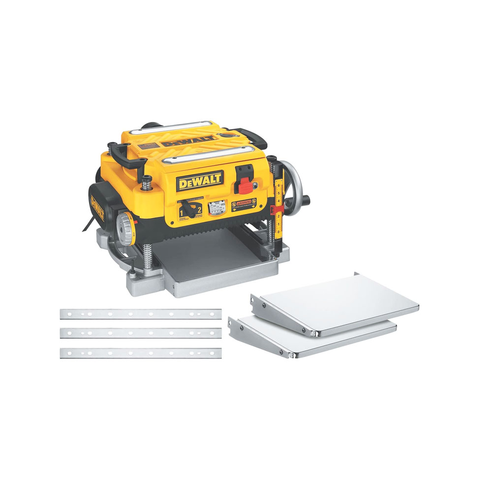 toptopdeal-DEWALT Thickness Planer, Two Speed, 13-Inch (DW735X)