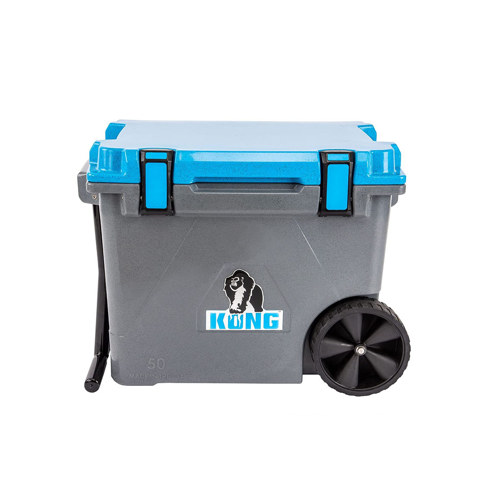 toptopdeal-KONG Coolers 50 QT Cruiser Wheeled Cooler Proudly Made in The USA