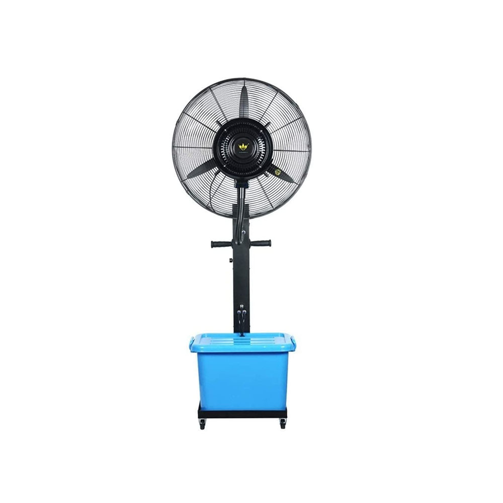 toptopdeal-Powerful fan Factory Building Large Oscillating Misting Fan High Power Industrial Factory Misting Spray