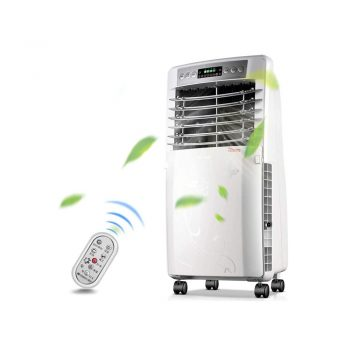 toptopdeal-air conditioner, Air Cooler Portable Air Conditioning 5L Water Tank Wide Angle Air Accessory LED