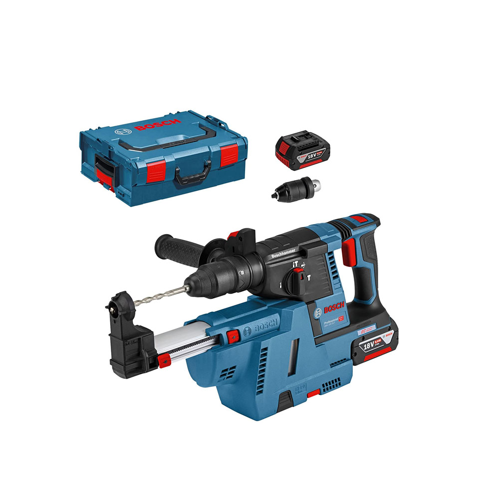 toptopdeal uk Bosch Professional GBH Brushless + GDE 18 V-16 SDS-Plus Cordless Rotary Hammer