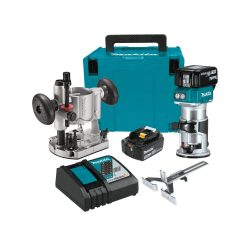 Toptopdeal uk Makita XTR01Z 18V LXT Lithium-Ion Brushless Cordless Compact Router